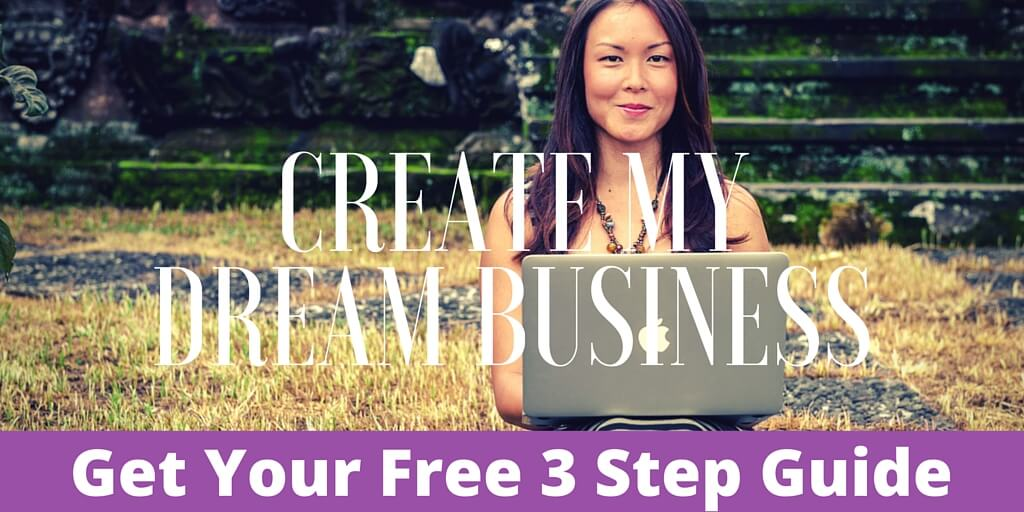Create my dream business - opt in image