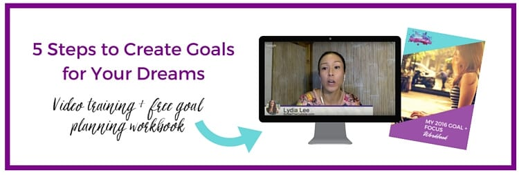 5 steps to create dreams for your goals
