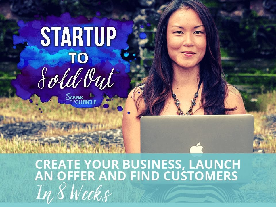 Sign up for the Startup to Sold Out course