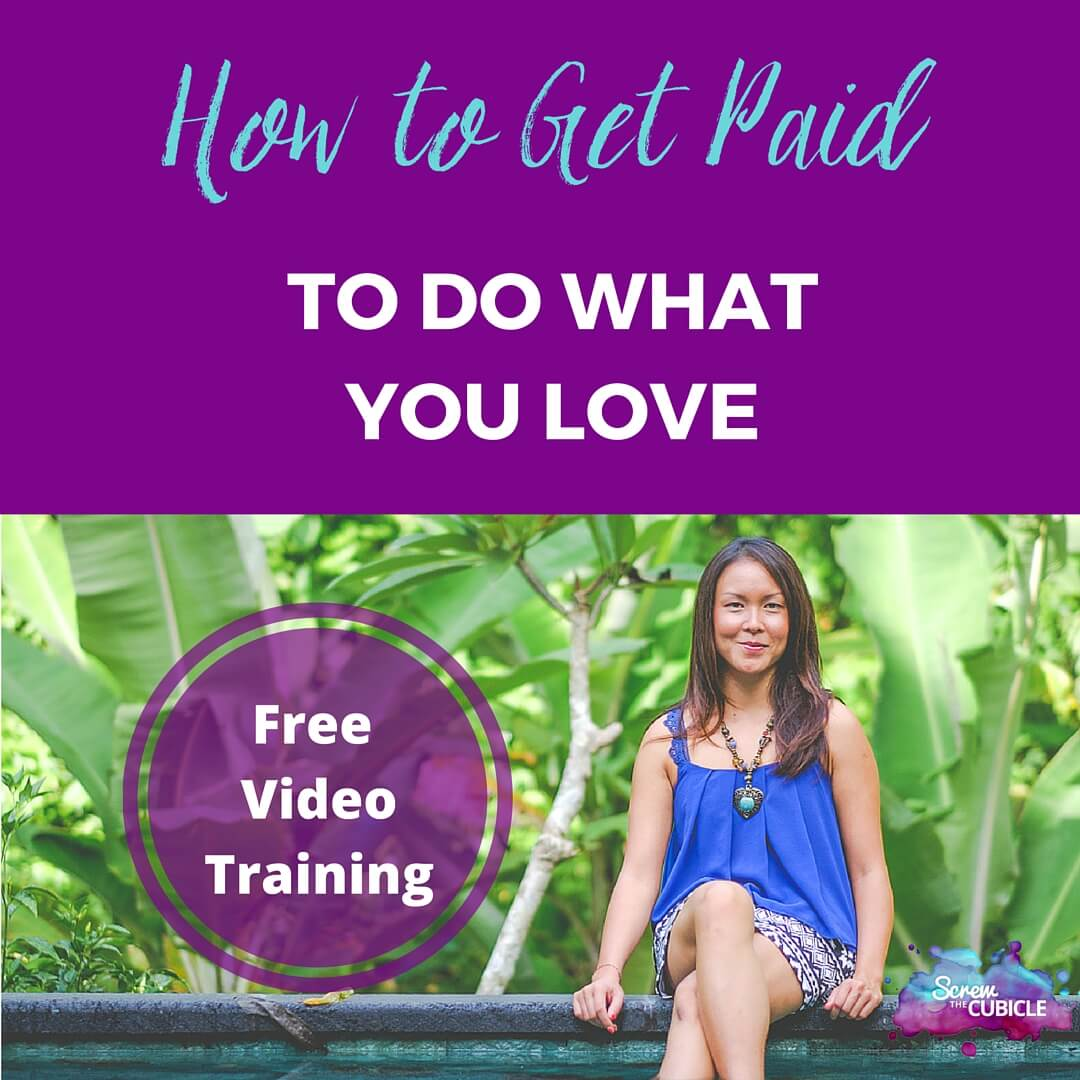Free training: How to get paid to do what you love