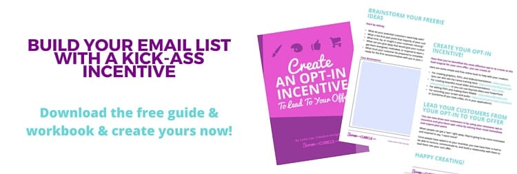Create your opt-in incentive guide
