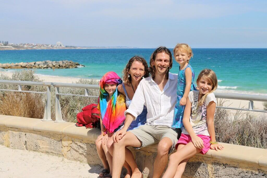 The Pearce family has travelled to 32 countries and counting, while world schooling and homeschooling their kids on the road