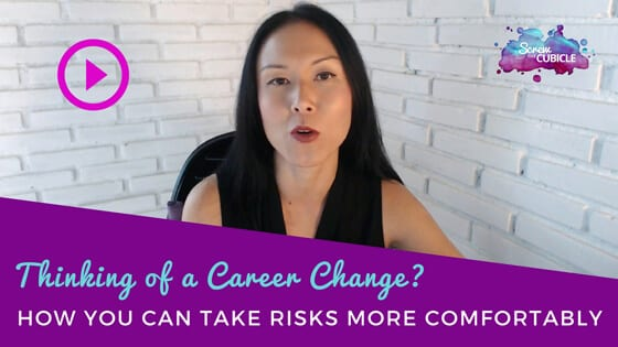 Thinking of a career change? How you can take risks more comfortably