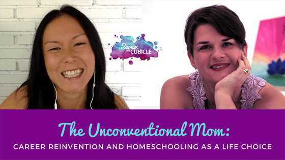 The unconventional mom: Career reinvention and homeschooling as a life choice