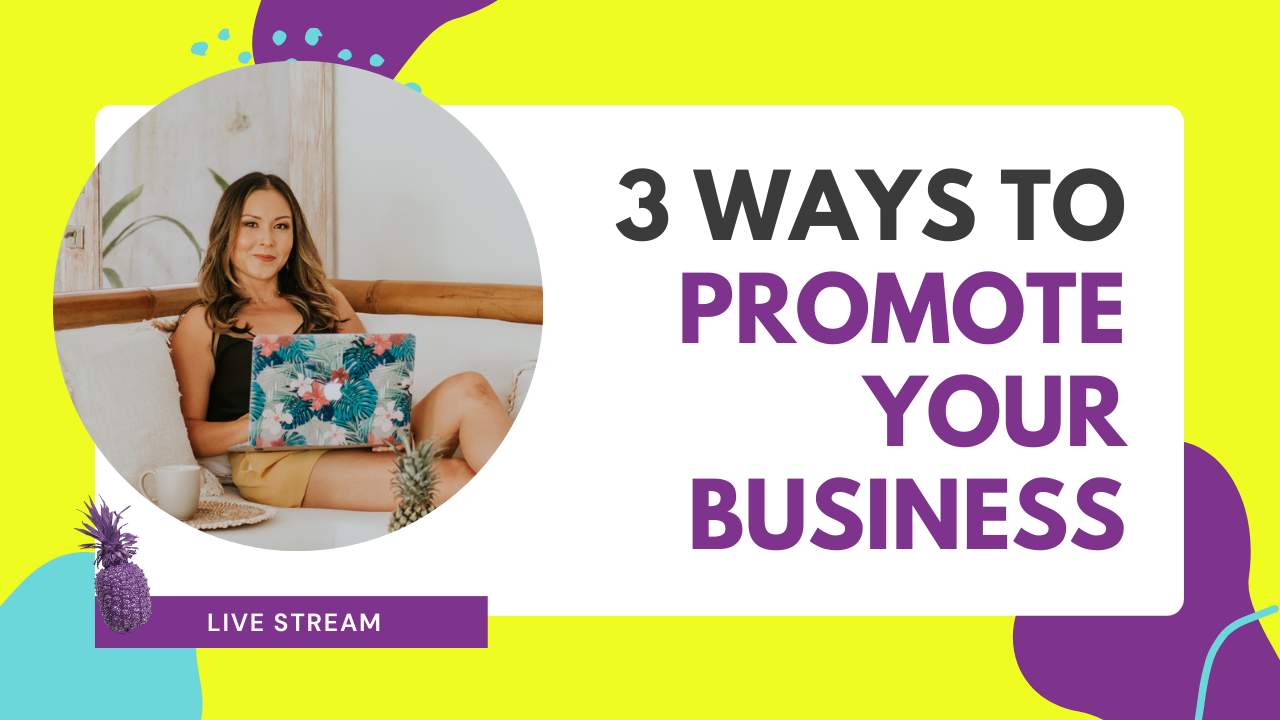 3 Ways I Created Visibility To Promote My Business In My First Year